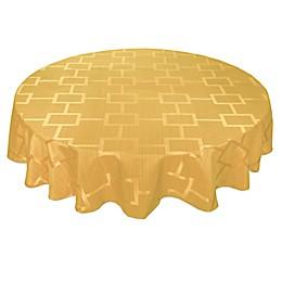 Origins™ Tribeca Microfiber Round Tablecloth