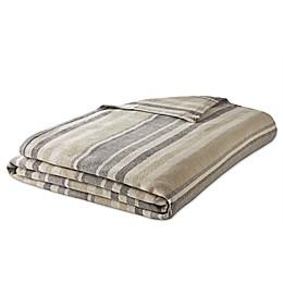 Eddie Bauer® Herringbone Stripe Cotton Blanket