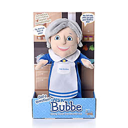 Mensch on a Bench Ask Bubbe: Talking Jewish Grandmother Doll