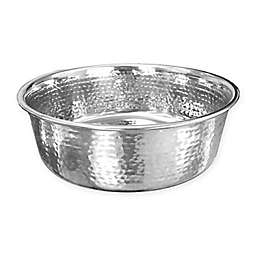 Neater Pet Brands® Large Hammered Stainless Steel Pet Bowl