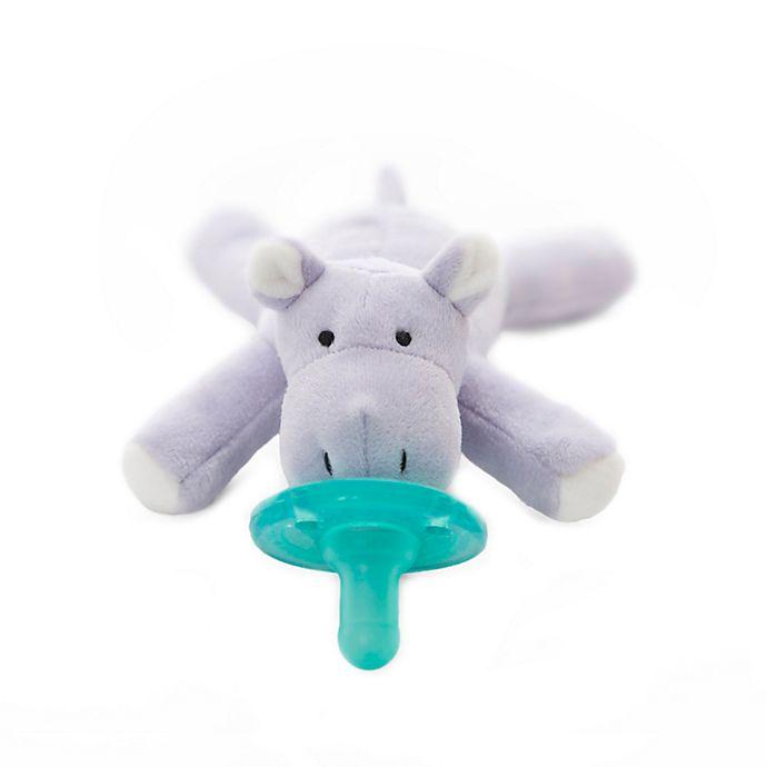 Alternate image 1 for WubbaNub™ Hippo Infant Pacifier in Lavender