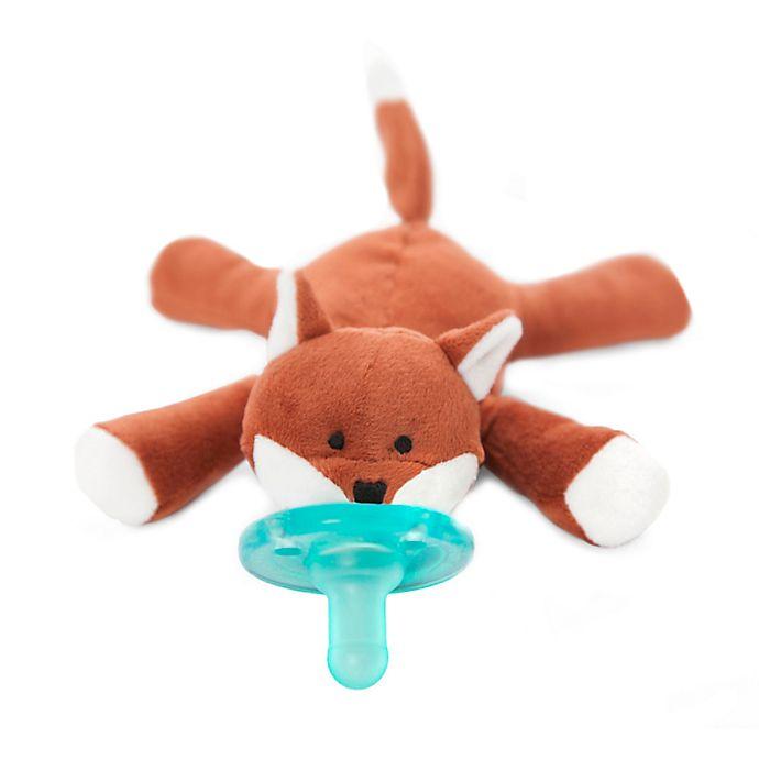Alternate image 1 for WubbaNub™ Fox Infant Pacifier in Brown
