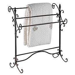Southern Enterprises© Metal Scroll Blanket Rack