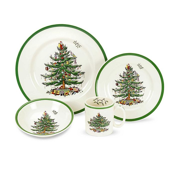 Spode Christmas Tree.Spode Christmas Tree Dinnerware Collection