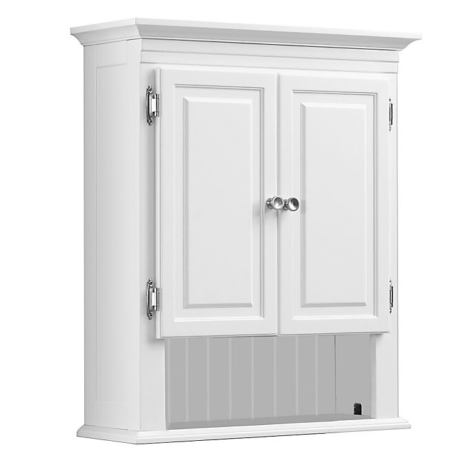 Alternate image 1 for Wakefield No Tools Wall Cabinet in White