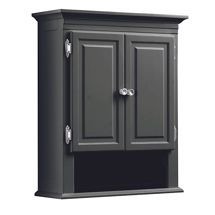 Inspiring Second Hand Cabinets 4 Dark Cherry Kitchen: Buy Wakefield Wall Cabinet In Grey From Bed Bath & Beyond