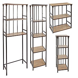 Silverwood 3-Tier Over the Toilet Space Saver Collection