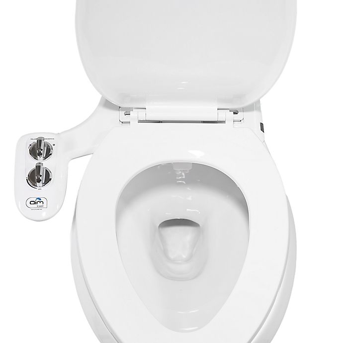 Aim To Wash Bidet Attachment With Toilet Night Light In White Chrome Bed Bath Beyond