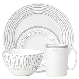 kate spade new york Charlotte Street East Dinnerware Collection in Grey