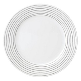 kate spade new york Charlotte Street™ East Dinner Plate in Grey