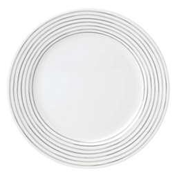 kate spade new york Charlotte Street™ East Dinner Plate in Grey