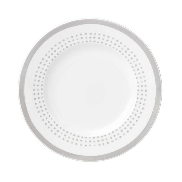 Alternate image 1 for kate spade new york Charlotte Street™ East Accent Plate in Grey