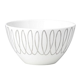 kate spade new york Charlotte Street™ East Soup/Cereal Bowl in Grey