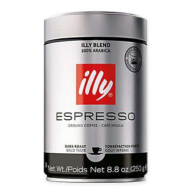 illy® Espresso Fine Ground Dark Roast Espresso