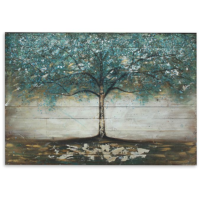 Tree Wooden Plank Wall Art Bed Bath Beyond