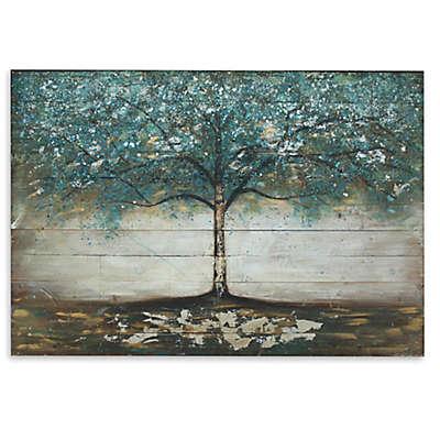 Tree Wooden Plank Wall Art