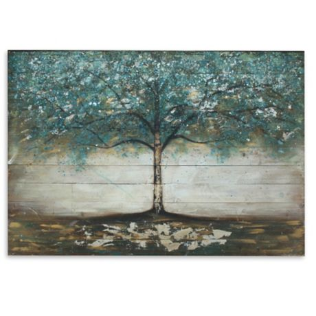 Tree Wooden Plank Wall Art Bed Bath Amp Beyond