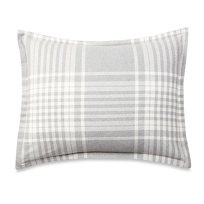 bebd390968 UGG® Flannel Heather Plaid Standard Pillow Sham