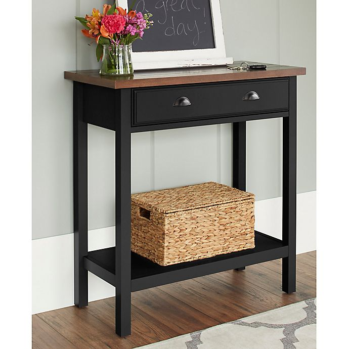 Foyer Table Bed Bath And Beyond : Chatham house newport console table with drawer bed bath