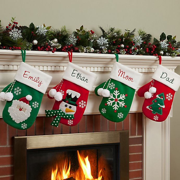 Cozy Mitten 17 Inch Christmas Stocking Collection Bed Bath Beyond,Country Cottage Decor Uk