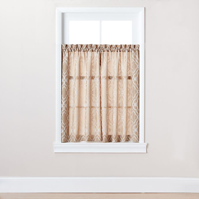 Alternate image 1 for Taj Mahal Window Curtain Tier