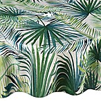Shades of Palm 70-Inch Round Umbrella Tablecloth