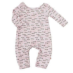Pickles N' Roses™ Size 6-12M Sleepy Eye Long Sleeve Knit Coverall