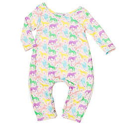Pickles N' Roses™ Size 6-12M Unicorn Long Sleeve Knit Coverall