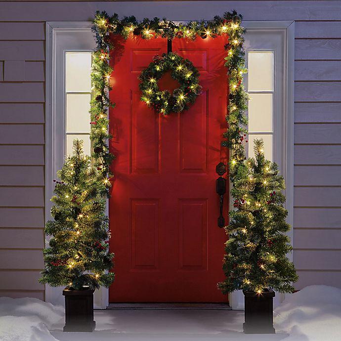 6 piece holiday value decorative christmas set - Holiday Value Decorative Christmas Set
