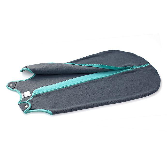 Alternate image 1 for Baby Deedee® Sleep Nest® Fleece Sleeping Bag in Green