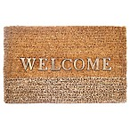 29-Inch x 18-Inch  Welcome  Door Mat in Natural