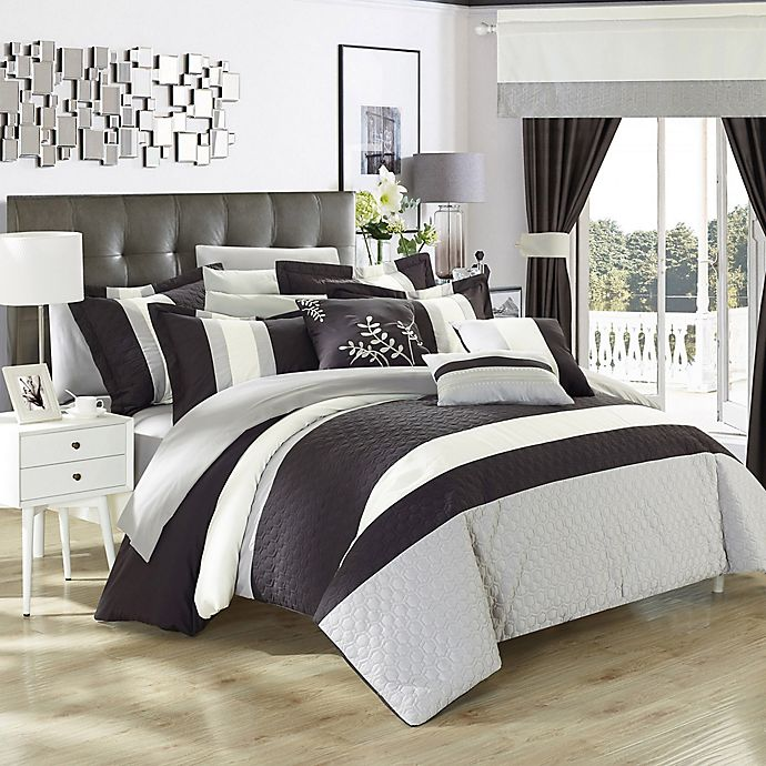 Alternate image 1 for Chic Home Placido 24-Piece Comforter Set