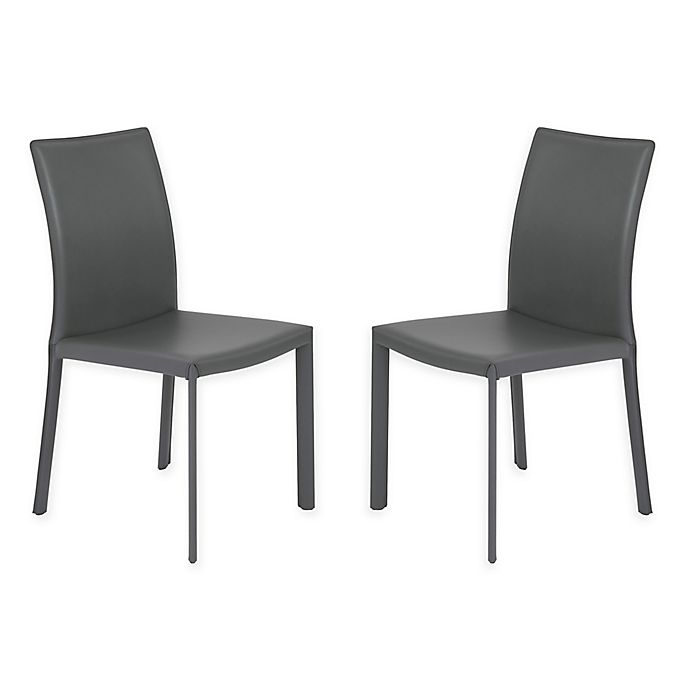 Surprising Eurostyle Hasina Dining Chairs Set Of 2 Bed Bath Beyond Ibusinesslaw Wood Chair Design Ideas Ibusinesslaworg