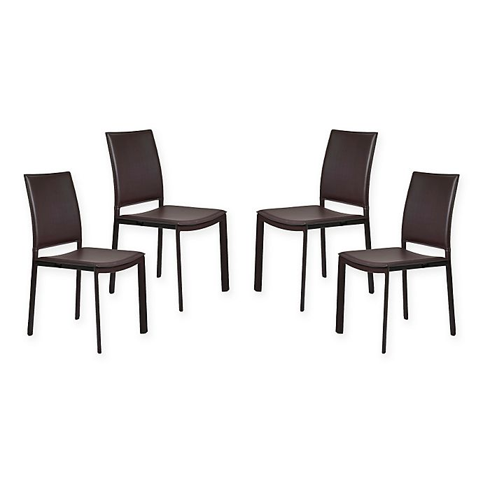 Alternate image 1 for Eurostyle™ Kate Dining Chairs (Set of 4)