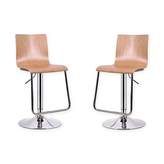 Buy Baxton Studio Lynch Barstools In Brown Set Of 2 From