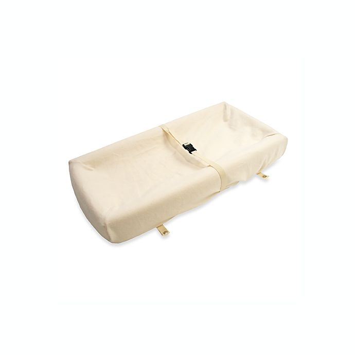 Alternate image 1 for Naturepedic® Contoured Changing Pad Cover