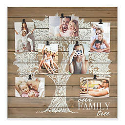 Fetco Home Decor™ Our Family Tree 7-Photo 5-Inch x 7-Inch Collage Frame in White