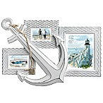 Prinz 3-Photo Anchor Collage Frame in White
