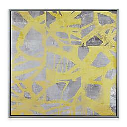 Urban Habitat® Network Web Printed Canvas Wall Art in Yellow