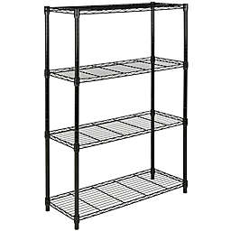 Safavieh Bravo 4-Tier Chrome Wire Rack