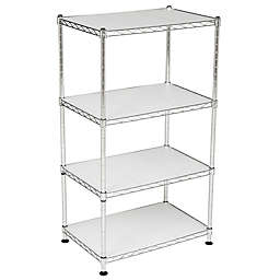 Safavieh Jules Adjustable Chrome Wire Mini Rack in Chrome