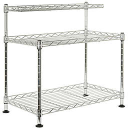 Safavieh Marcel Chrome Wire Mini Rack in Chrome