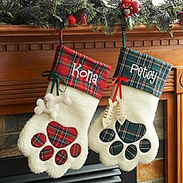 Puppy Paws 15-Inch Christmas Stockings