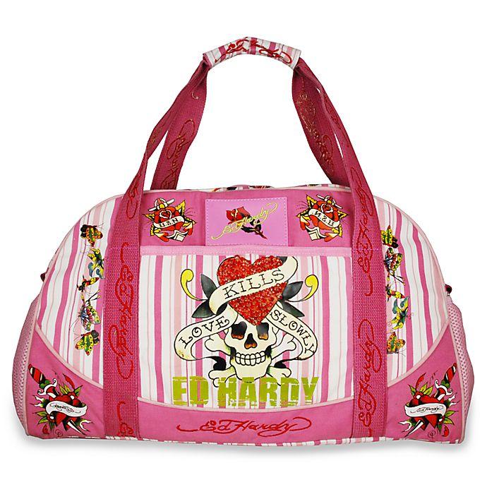 50d3e6c50bff Ed Hardy™ Bowler Diaper Bags - Pink