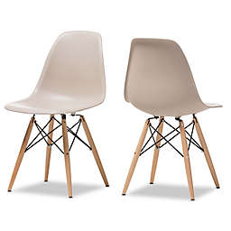 Baxton Studio Azzo Chairs (Set of 2)