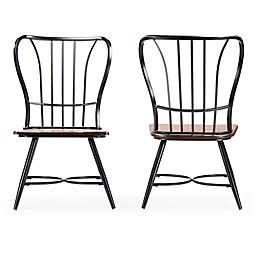 Baxton Studio Longford Chairs (Set of 2)