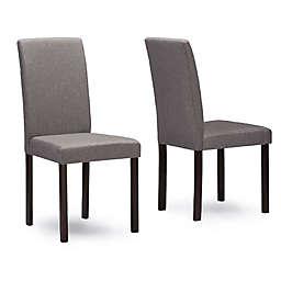 Baxton Studio Andrew Chairs (Set of 2)