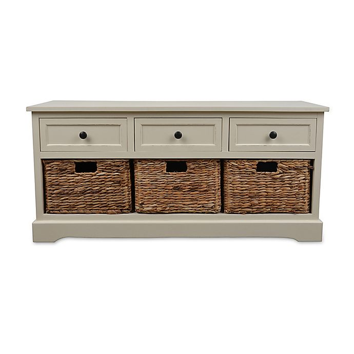 Alternate image 1 for Décor Therapy Montgomery Storage Bench