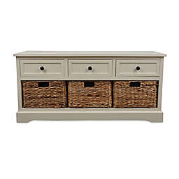 Décor Therapy Montgomery Storage Bench
