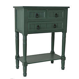 Décor Therapy 3-Drawer Console